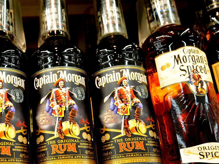 Captain Morgan rum is, by volume, one of the top-selling brands of spirit in the U.S.