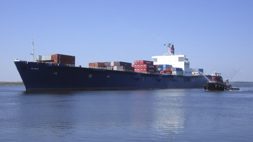 The crew of El Faro, which was based in Jacksonville, died when the container ship lost power and drifted into the path of Hurricane Joaquin in Oct. 2015.