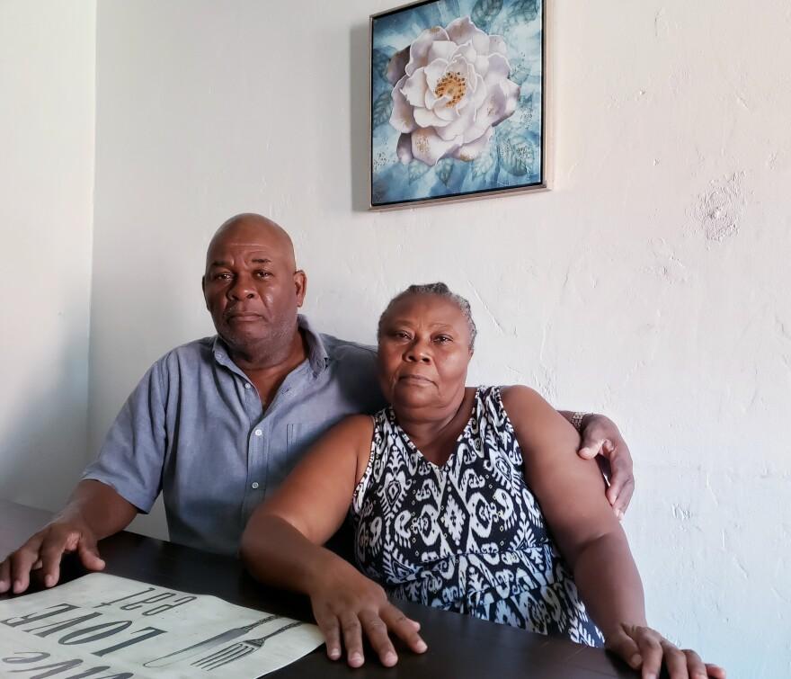 Edouard Deus and Marie Deus lost their daughter, Mikerlange Deus, in the 2010 Haiti earthquake.