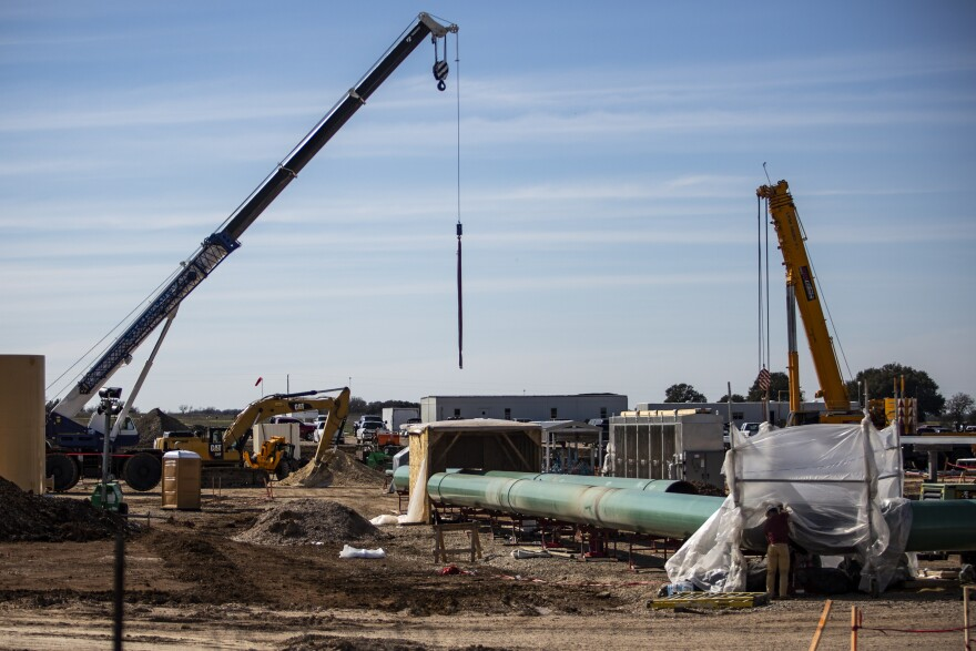Kinder Morgan is constructing a natural gas line, known as the Permian Highway Pipeline, through the Texas Hill Country.