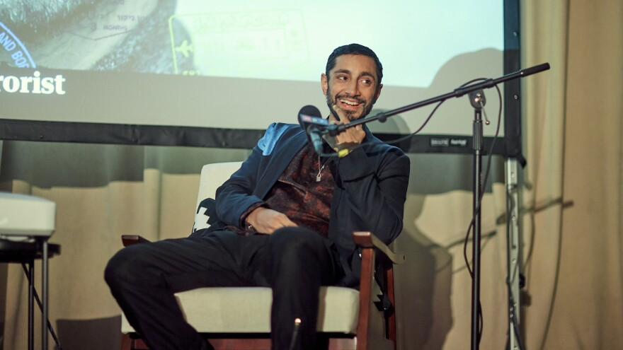 Actor and musician Riz Ahmed spoke with host Audie Cornish in front of a live audience at Murmrr in Brooklyn, N.Y.