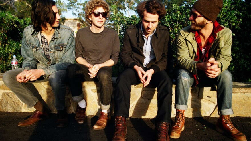 Dawes performs live on today's <em>World Cafe</em>.