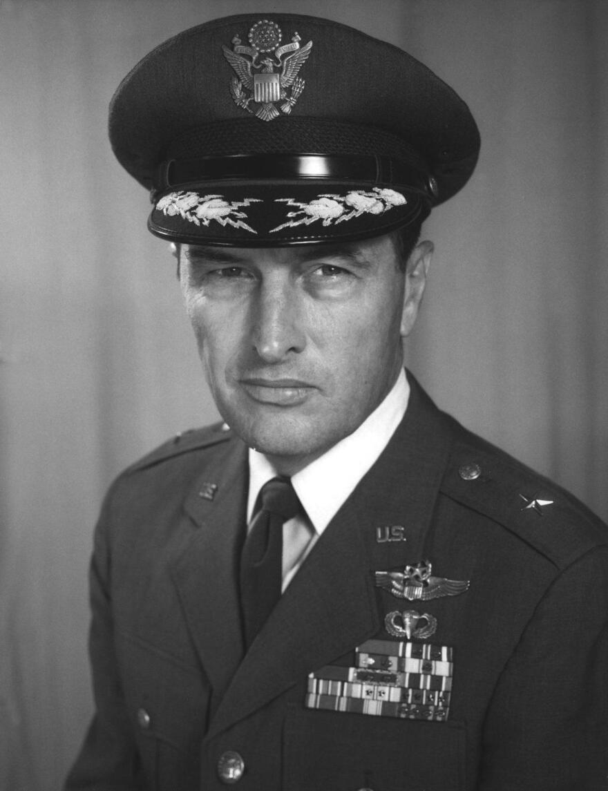 "Brigadier General Frank Kendall ""Pete"" Everest Jr. (August 9, 1920 – October 1, 2004) was a U.S. Air Force officer who is best remembered as an aeroengineer and test pilot during the 1950s."