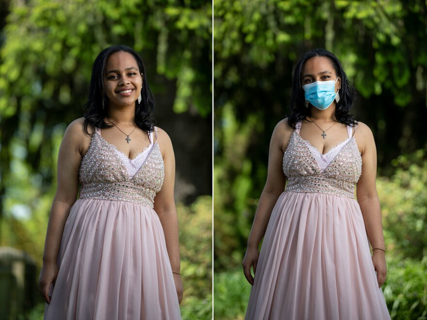 Deborah Tadesse, 17, Catonsville High School in Catonsville, Md.