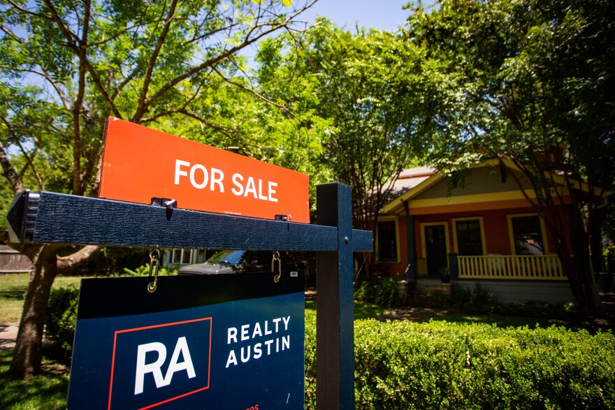 Home prices and sales in the Austin area are higher than usual.