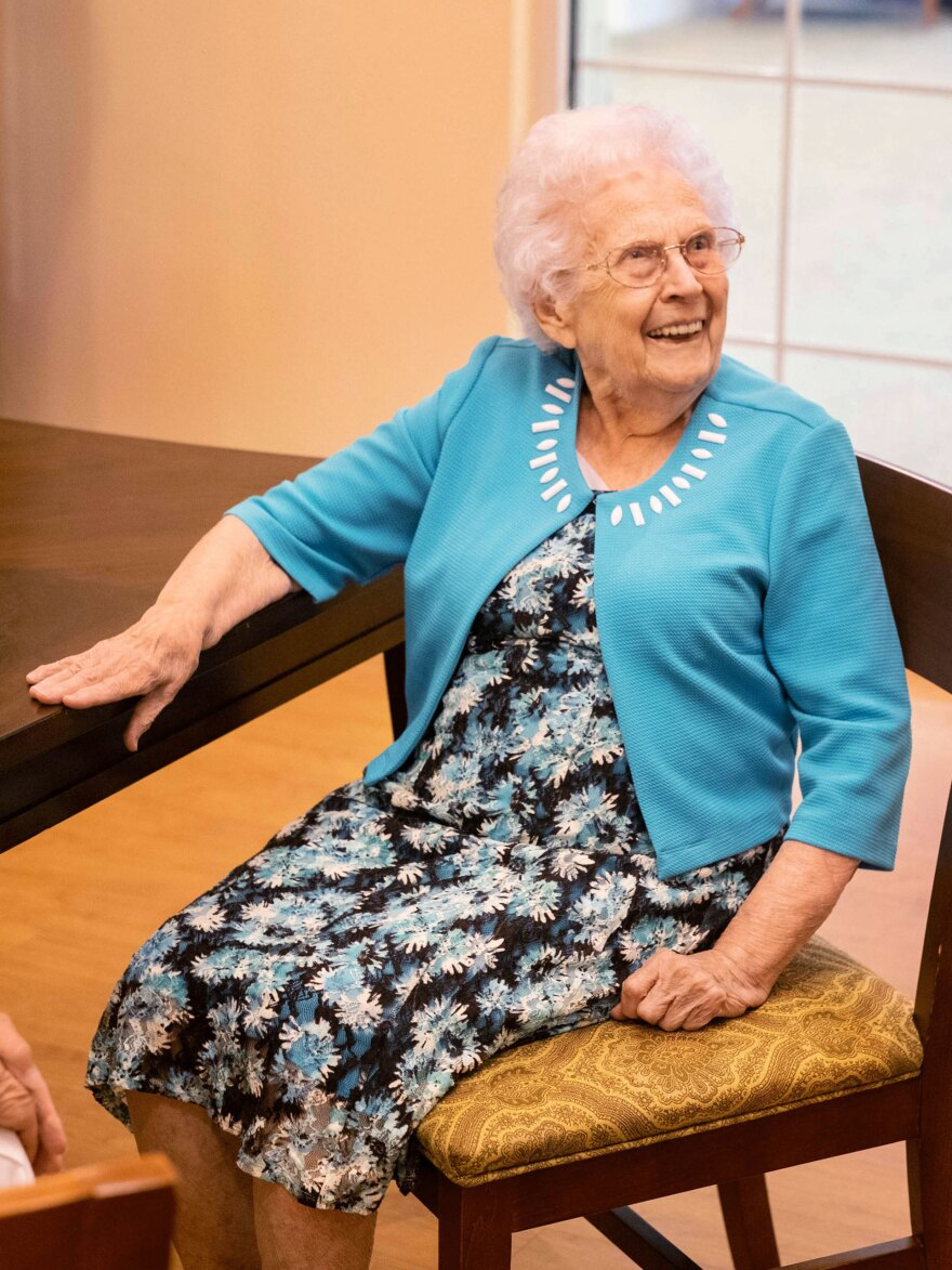 Betty Shaver was in high spirits anticipating a visit from her son, Mark. For three months, he and his wife, Janet,<strong> </strong>were only able to talk to Betty virtually.