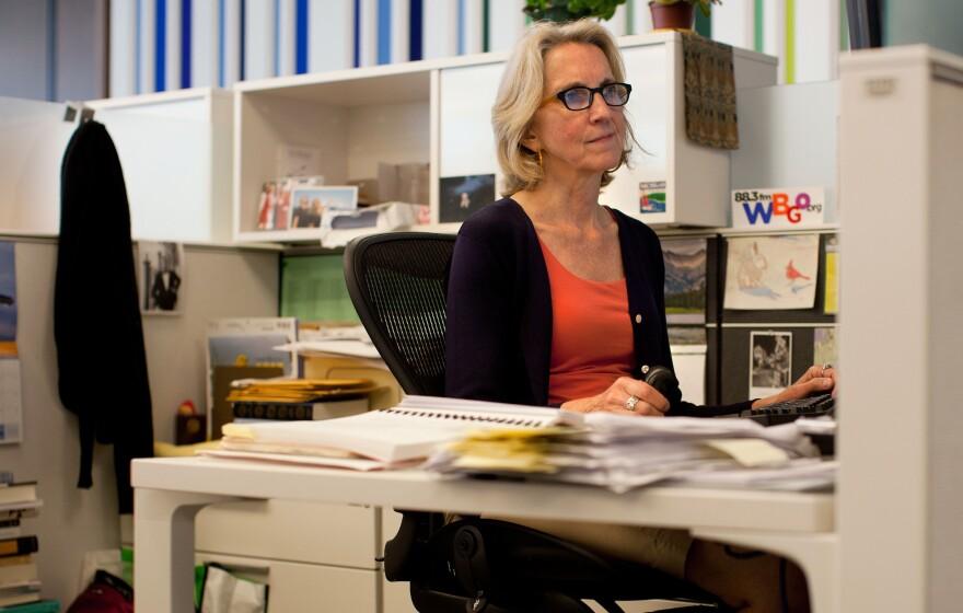 "NPR Investigations Research Librarian Barbara Van Woerkom ""took it as a challenge."""