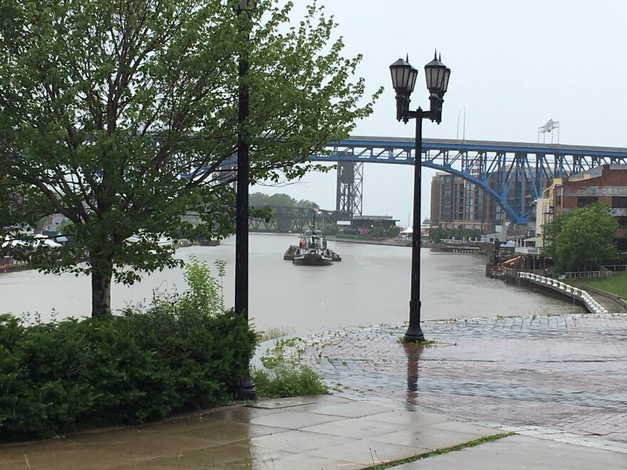 photo of Cuyahoga River in Cleveland