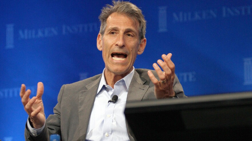 """Responding to criticism over the handling of The Interview, Sony Pictures CEO Michael Lynton says his studio """"very much wanted to keep the picture in release."""""""