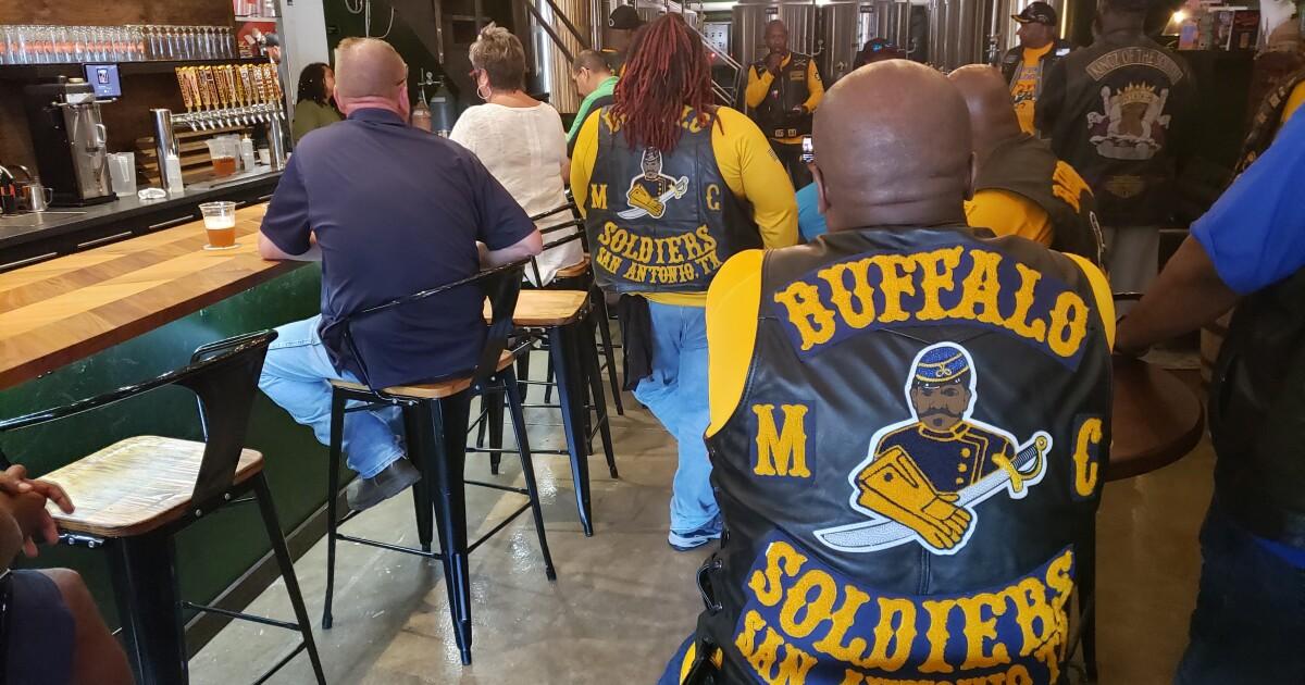 San Antonio Motorcycle Club Celebrates Buffalo Soldiers Day