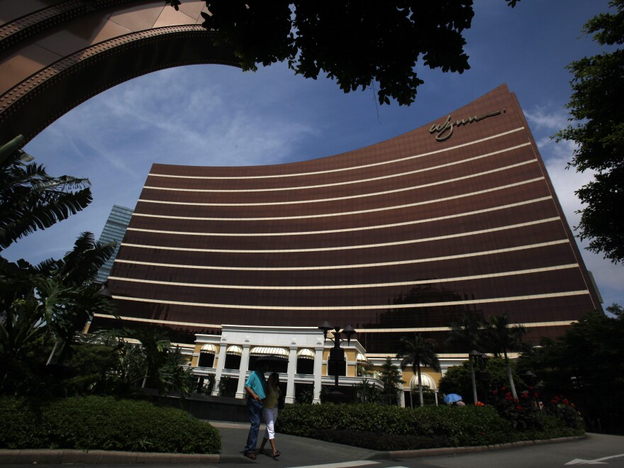 Wynn Macau casino resort is one of several new glitzy hotel-casinos that have gone up in the former Portuguese colony since the gambling industry there was liberalized in 2002.