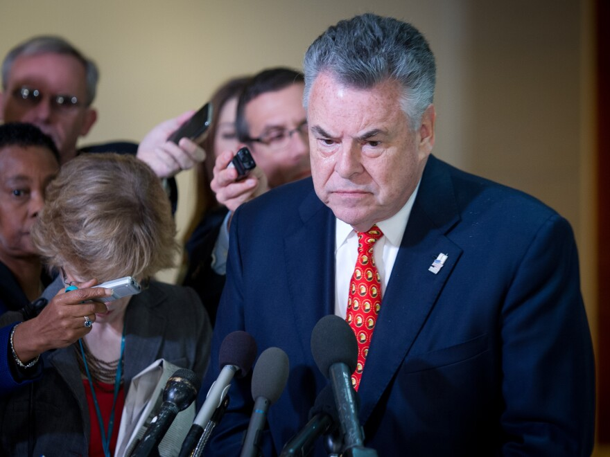 After the House Intelligence Committee hearing on Benghazi Friday, Rep. Peter King said he felt U.N. Ambassador Susan Rice's comments after the attack may have been sanitized.