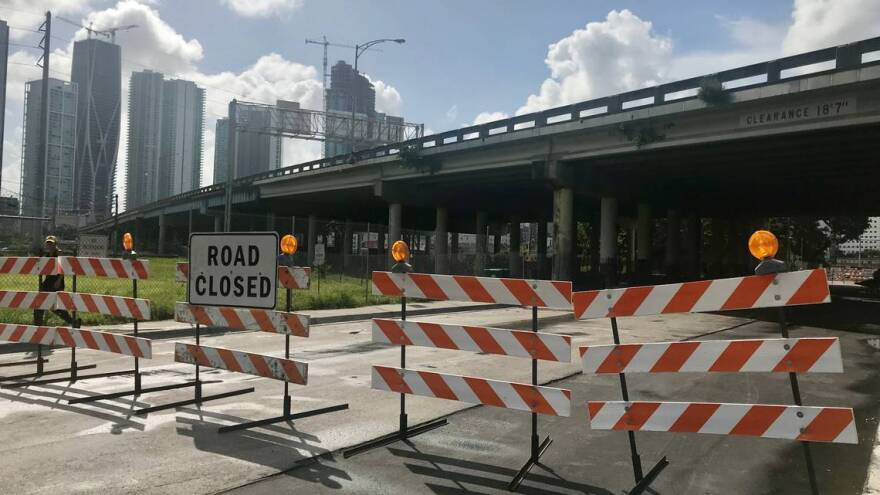 Miami officials closed four streets under the 836 expressway in Overtown last year as health officials investigated the spread of HIV and hepatitis C. Discarded needles near schools pose a safety threat to students.