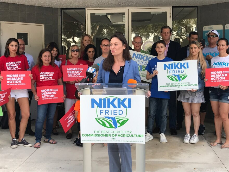 Nikki Fried is the winner of Florida's Agriculture Commissioner contest.