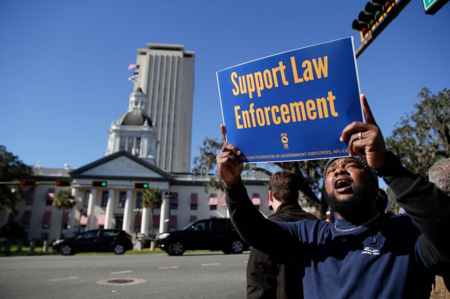 Federal employees held a rally in Downtown Tallahassee Thursday, amid having their paychecks halted as a result of the ongoing U.S. Government shutdown.