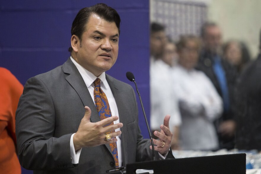 Austin ISD Superintendent Paul Cruz