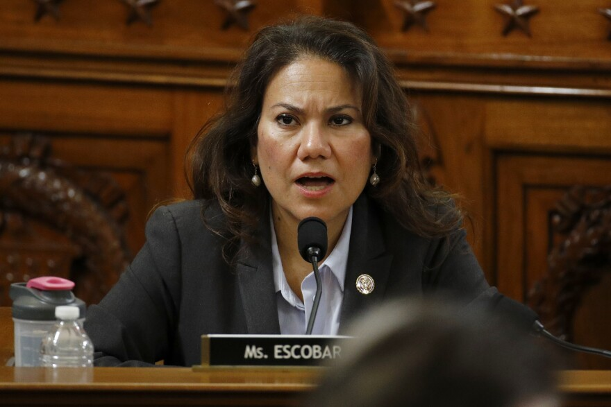 Rep. Veronica Escobar of Texas will deliver the Spanish-language response to President Trump's State of the Union Address on Feb. 4.