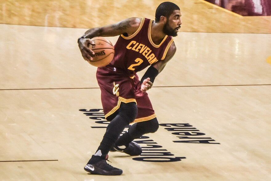 a photo of Kyrie Irving