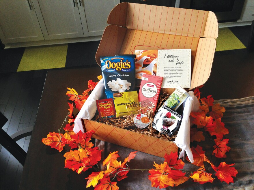 The November box from Wal-Mart's Goodies Co. certainly looks festive, but only time will tell if it survives the scrutiny of the foodie community.