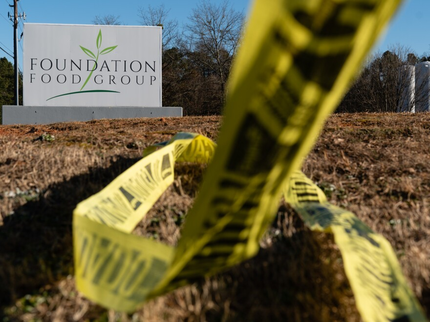 The Jan. 28 nitrogen gas leak at the Gainesville, Ga. Foundation Food Group plant killed six people and sent 12 others to the hospital.