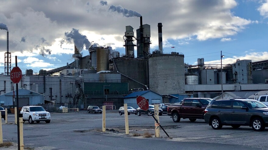 The Verso Paper Mill in Jay, Maine.