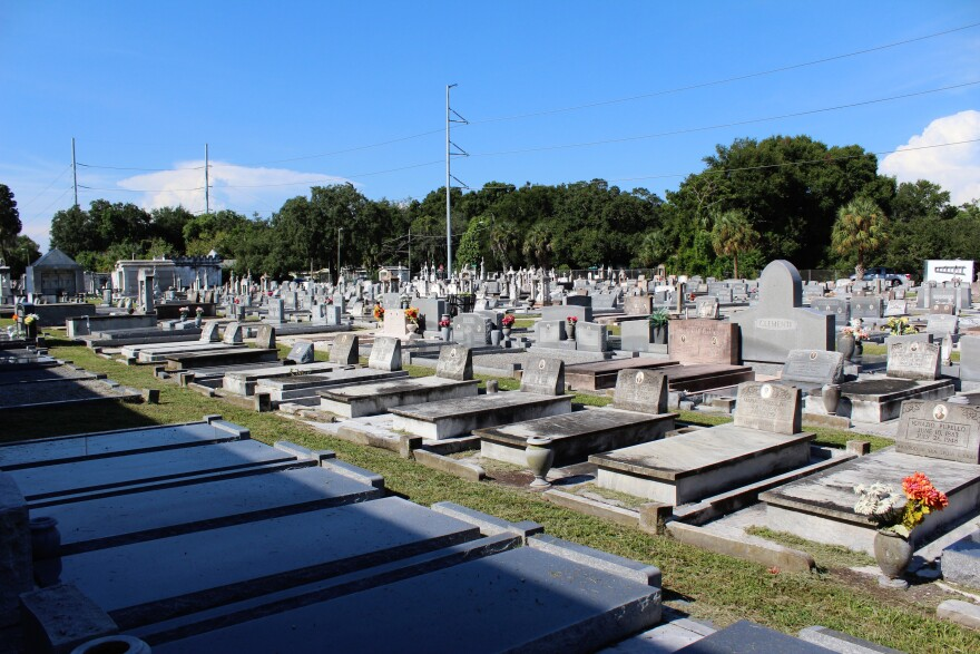 The Italian Club Cemetery will be repairing its security and making landscape improvements.