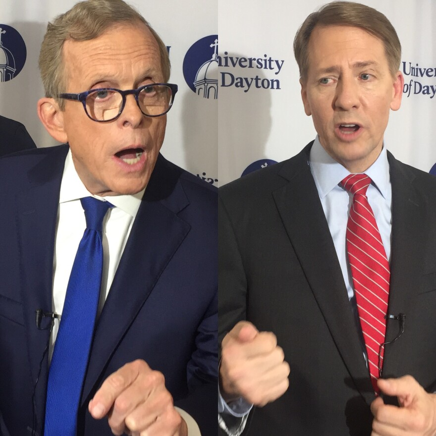 photo of DeWine and Cordray