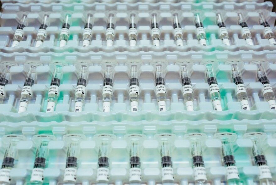 Vials of Bayer's Kogenate, a factor VIII product, at the company's factory in Berkeley, Calif.