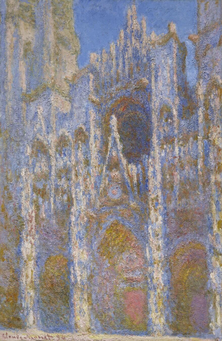 Monet's <em>Rouen Cathedral, Façade,</em> 1894