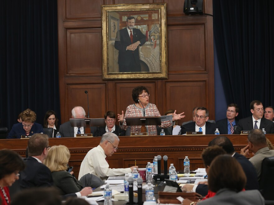 """""""Starving rail of funding will not enable safer train travel,"""" Rep. Nita Lowey, D-N.Y., told the House Appropriations Committee Wednesday. Rep. Mike Simpson, R-Idaho, admonished Democrats: """"Don't use this tragedy in that way,"""" he said. """"It was beneath you."""""""