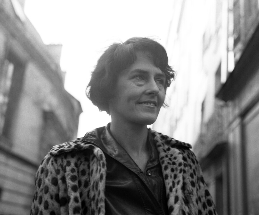 """""""I like to accept the way people present themselves,"""" photographer Inge Morath said in a 1987 NPR interview. """"You never know what you get. It's fascinating ... that's why I like to do portraits."""" Morath, pictured above in Paris in 1964, is the subject of a new biography by Linda Gordon called <em>Inge Morath: Magnum Legacy,</em> published by Prestel and Magnum Foundation<em>.</em>"""