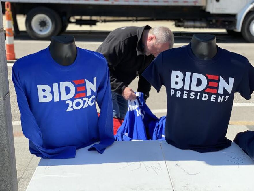 Biden has become the Democratic frontrunner since his big victory last week in South Carolina.