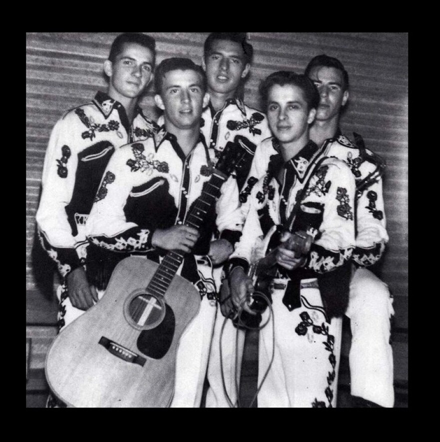 Davie Lee, back center, was in Sid King and the Five Strings.