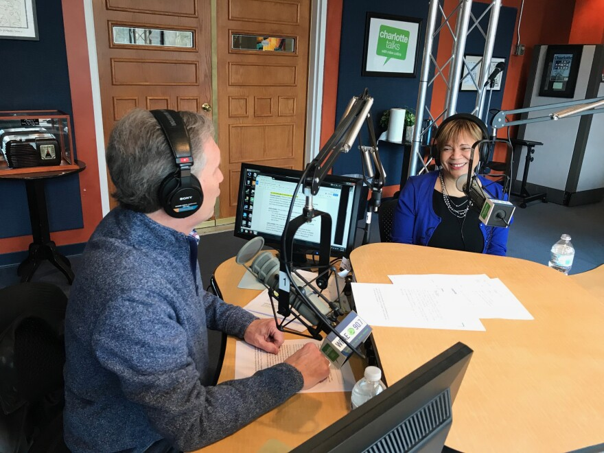 """Mayor Vi Lyles on Charlotte Talks for """"Mike and the Mayor."""""""