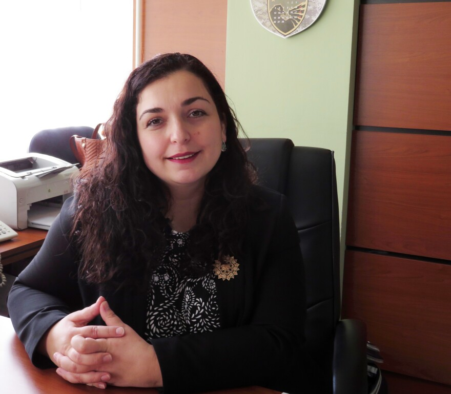 """Parliamentary deputy Vjosa Osmani says women's issues have become much more prominent in the last decade. """"Women in parliament have proven to be less corrupted, and corruptible"""" than men, she says."""