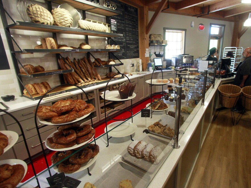 King Arthur Flour Co. has a bakery and cafe at its flagship location in Norwich, Vt., which is also home to the more than one dozen baker support specialists who staff its Baker's Hotline.