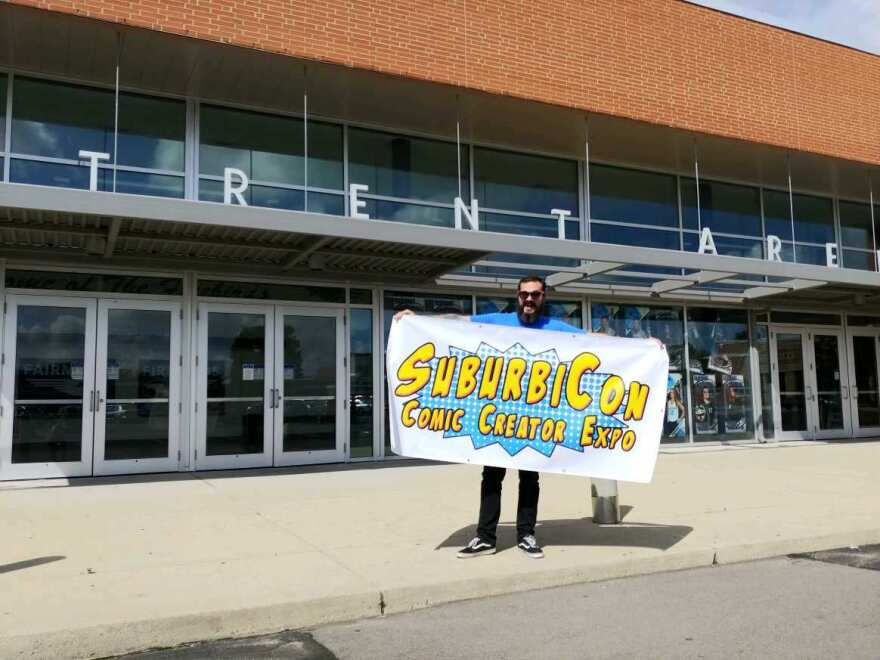 SuburbiCon 2018 will be held at Kettering's Trent Arena.