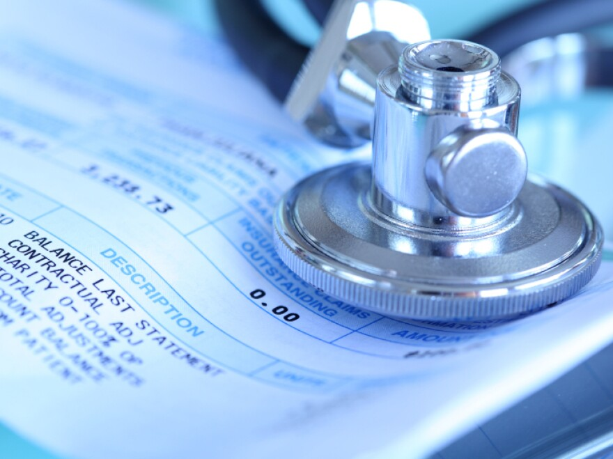A vaccination that would be free inside a health plan's network can result in a bill when administered by an unapproved doctor.