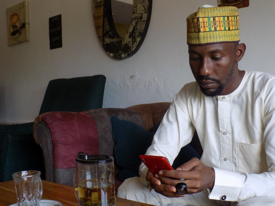Sadiq Abubakar, the Nigerian entrepreneur who started the hashtag #ThisIsMyHustle, says that he does much of his business on his mobile phone.