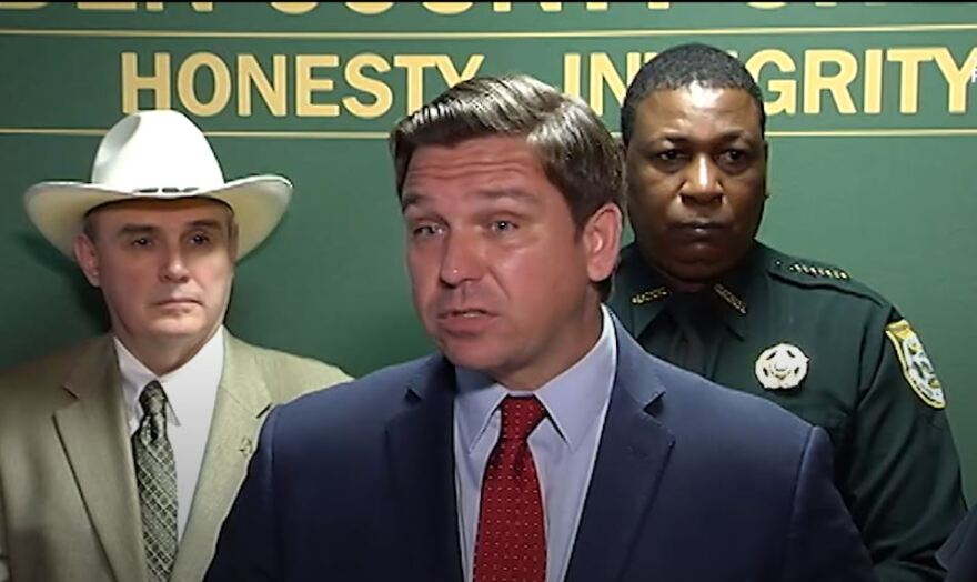 Gov. Ron DeSantis confirmed the fourth coronavirus diagnosis in Florida, a Santa Rosa County man in his 70s with underlying health conditions.