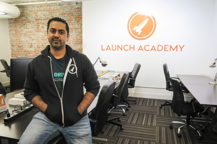 Ray Walia co-founded Launch Academy and works with the Canadian government to help attract tech companies to Canada. He says even American companies are interested.