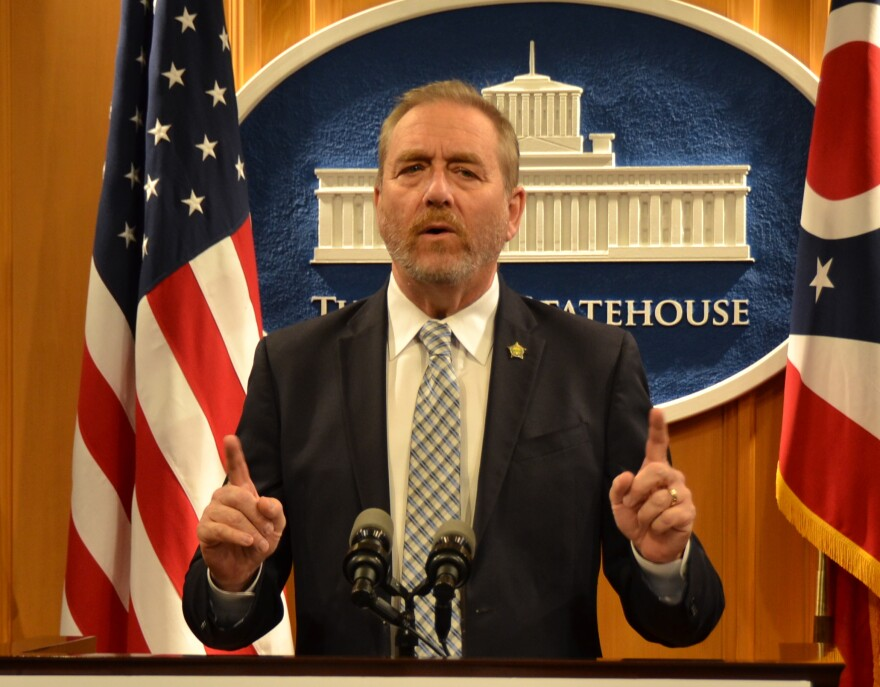 a photo of Ohio attorney general Dave Yost