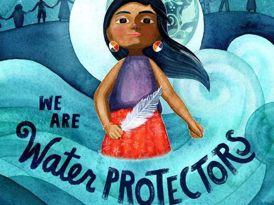 <em>We Are Water Protectors</em>, illustrated by Michaela Goade and written by Carole Lindstrom, won the 2021 Caldecott medal.