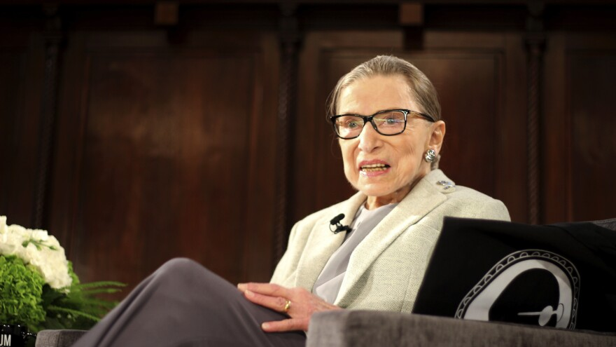 Supreme Court Justice Ruth Bader Ginsburg, at an event in December, is expected to make a full recovery and be back at the court soon.