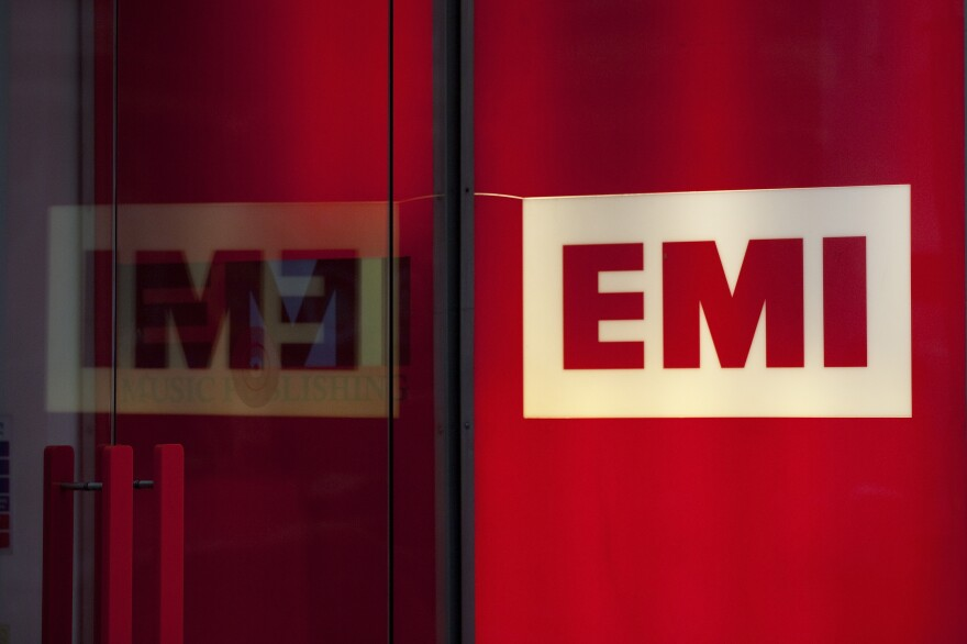 The London headquarters of EMI, whose sale this year brought the number of major labels from four to three.