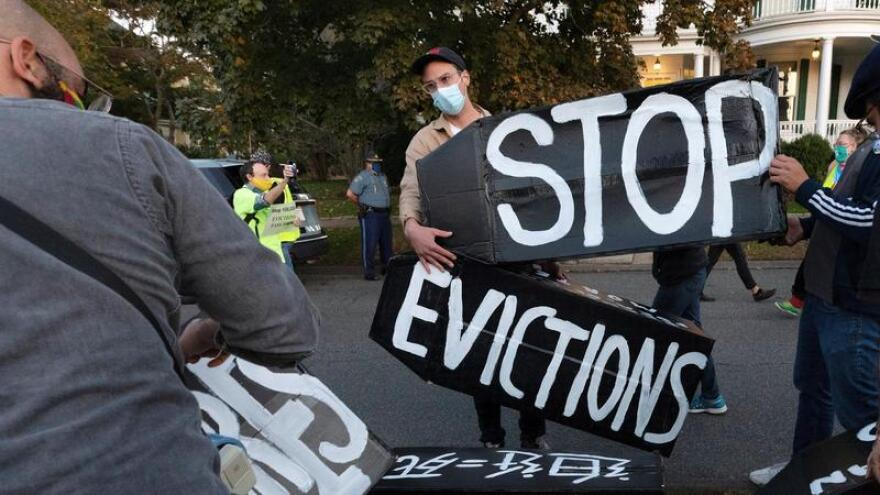 Additional federal aid aimed at preventing evictions is earmarked for Florida.