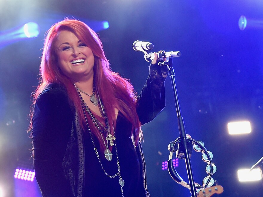 Singer Wynonna Judd of Wynonna & The Big Noise performs at the CMA Festival in Nashville, Tenn., in 2015.