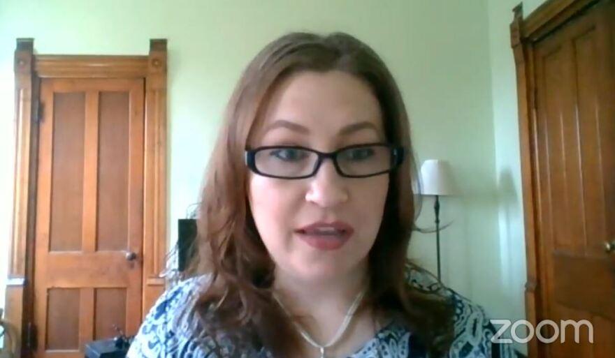 a photo of KSU professor Tara Smith