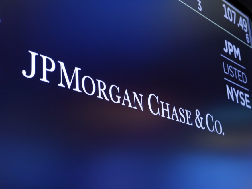 JPMorgan Chase says it's having to put more money into reserve to cover bad loans.