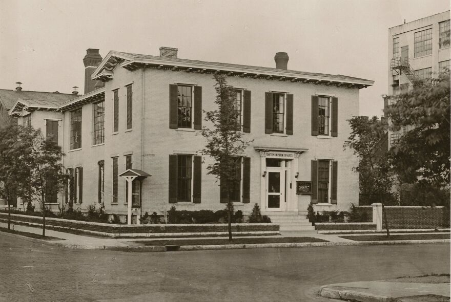 From 1919 to 1930, the original Dayton Museum of Arts was located on Monument Ave.